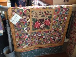 mooie quilt bekeken bij Den Haan en Wagenmakers