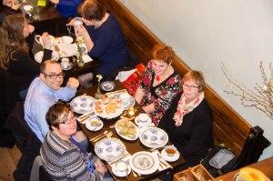 zit er zomaar in een keer familie in een restaurant in Amsterdam!